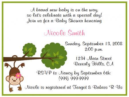 Fun and funny baby shower invitations karllandry wedding blog