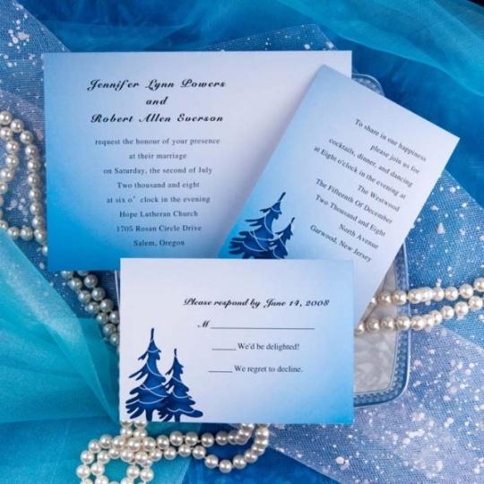 Cheap Tiffany Blue Wedding Invitations: Karl's Wedding & Baby Bog